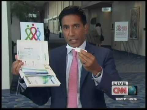 CNN Sanjay Gupta Discusses OraQuick® In-Home HIV Test