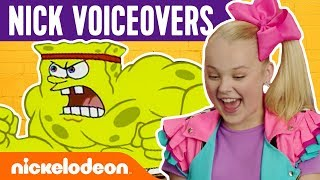 Nick Stars Voice SpongeBob & Loud House Greatest Moments | Nick