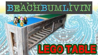 How I Built A Lego Table Beachbumlivin Style