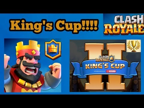 Clash Royal - KING'S CUP 200K! IN PRIZE MONEY!!!!