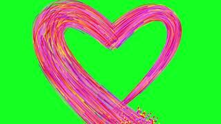 Best Heart Effects Green Screen  Free Effects HD Love