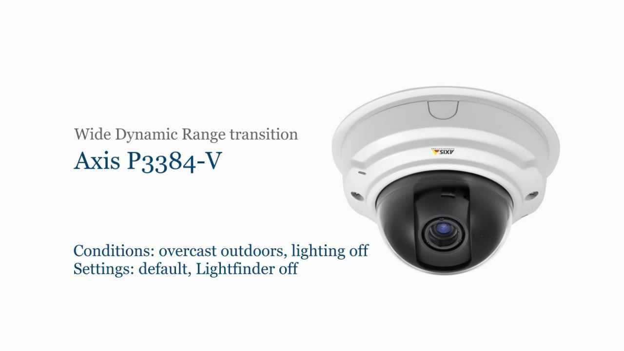 Download Drivers: AXIS P3384-V Network Camera