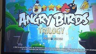 Angry Birds Trilogy Full Game Play PS3