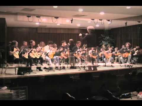 Arkansas State University Guitar Orchestra, The Patient by Tool