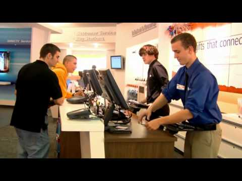 How much does an at&t sales consultant make