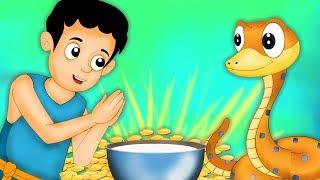 రైతు మరియు అతని అత్యాశ కొడుకు | Farmer and His Greedy Son | Telugu Moral Stories For Kids | Edtelugu