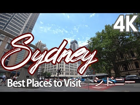 【4K SYDNEY AUSTRALIA】 Walking Best Places in Sydney シドニー : SYDNEY TOUR 2018 4K