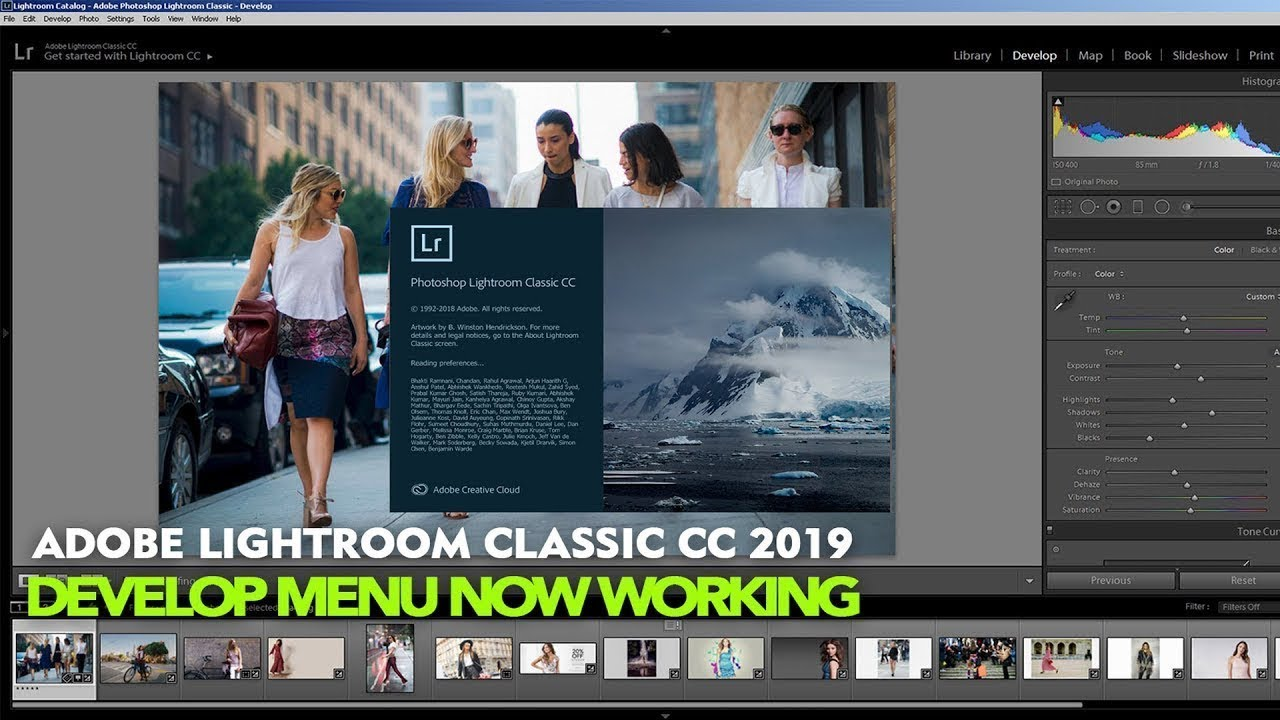 Fix Adobe Lightroom Classic CC Ver 8 1 Develop Now Working Smooth