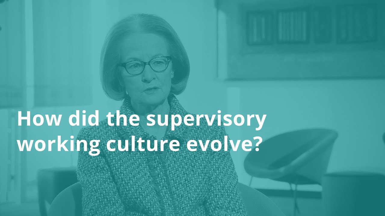 Interview with Danièle Nouy: how did the supervisory working culture evolve?
