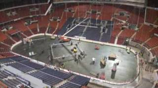 Mellon Arena Set Up Home Opener 2009-2010 Season