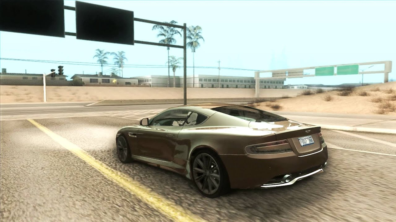 gta sa :: aston martin virage [2011] - youtube