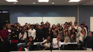 Ferry Zandvliet - Q&A with Freshmen students in San Diego 07-18-2019