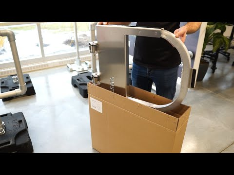 self-closing-safety-gate- -unboxing,-installation-and-adjustment- -delta-prevention