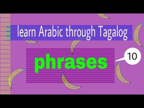 Learn Arabic through Tagalog