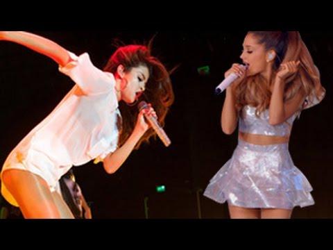 naked Ariana grande and selena gomez