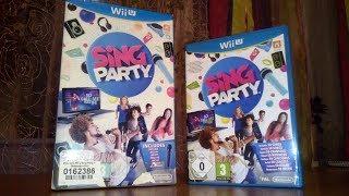 Распаковка игры Sing Party + Микрофон для Nintendo Wii U