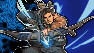 F&%K BASTION! Hanzo GAMEPLAY! (SQUAD) Overwatch PC GAMEPLAY!
