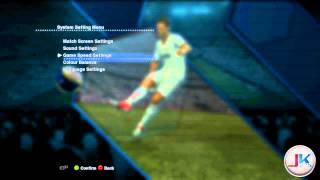 PES 2013 First Demo - Unlock tool : setting saver preview