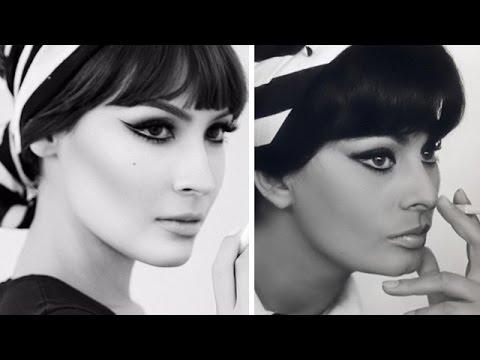 Sophia Loren Makeup Look: NikkieTutorials Collab - YouTubeSophia Loren No Makeup