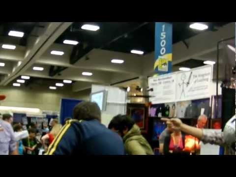 Mega64 Comic Con 2012 NightCall Dancing