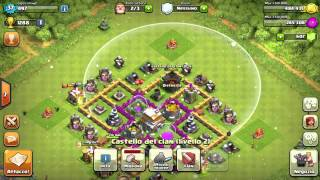 (il mio villaggio clash) 6# ITA(clash of clans) finalmente le guaritrici