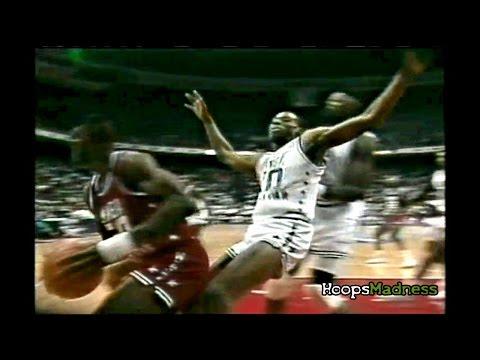 Dennis Rodman's Intense Defense in NBA All-Star Games!