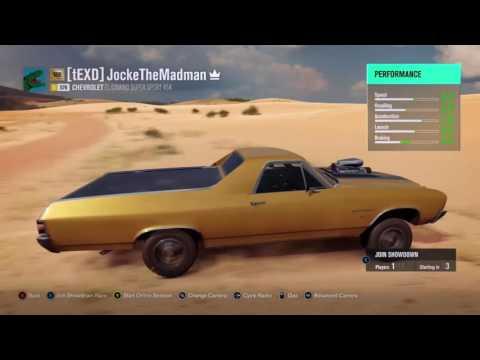 Forza Horizon 3 ] when the car tells it's time togo