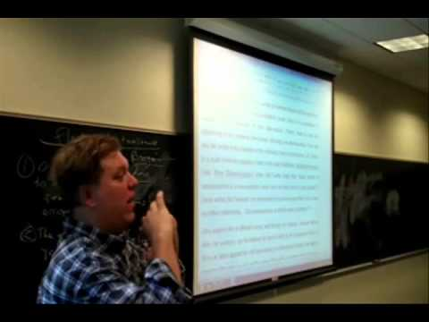 Problem of Change, Atomism, Occasionalism, Flickering Reality, parts 1 - 3, Fall 2012, Jeff Grupp