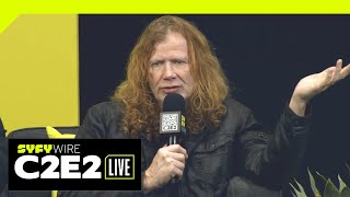 Megadeth's Dave Mustaine Does Comics | C2E2 2019 | SYFY WIRE