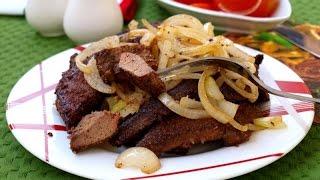 Свиная печень по-московски(Предлагаю приготовить простое и вкусное блюдо - свиную печень по-московски. Готовится такая печень очень..., 2015-12-10T08:50:14.000Z)