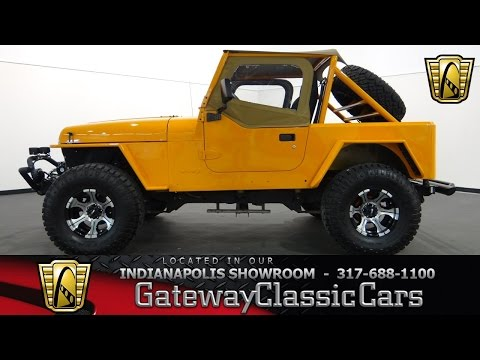 1990 Jeep Wrangler YJ - Gateway Classic Cars Indianapolis - #618 NDY
