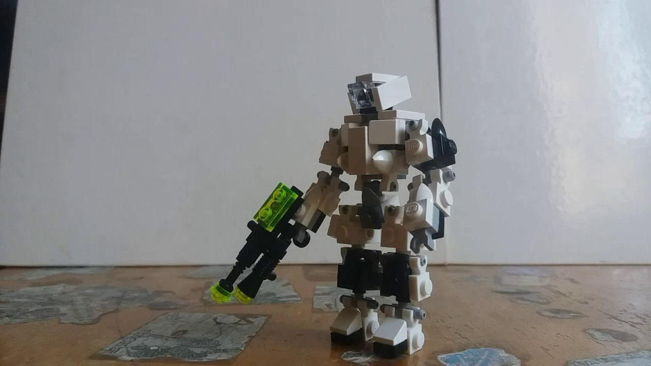 Tutorial-How to Make A Lego Mech Suit!!! - YouTube