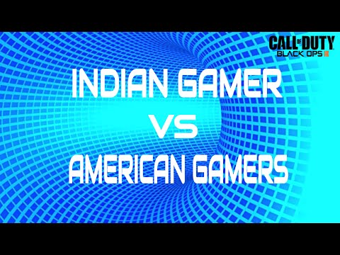 Indian Gamer Destroys American Gamers in Their Own Server - COD BO3