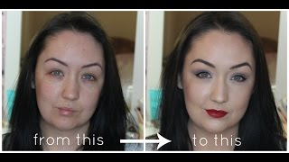How to Cover Acne, Scars, Redness and Dark Circles: Flawless Makeup Tutorial Thumbnail