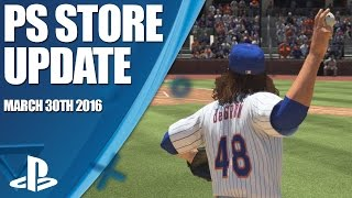 PlayStation Store Highlights - 30th March 2016