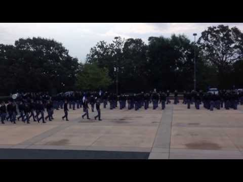 Riverside Military Academy Mess One Full Battalion Formation October 2013
