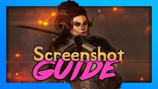 How to take amażing Skyrim screenshots! 📸