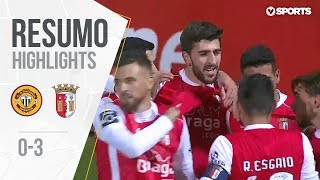 Highlights | Resumo: Nacional 0-3 Sp.Braga (Liga 18/19 #18)