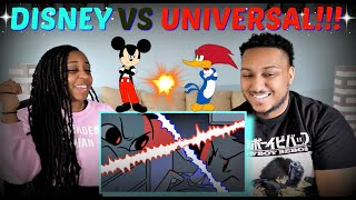 "sWooZie ""Disney VS Universal"" REACTION!!"