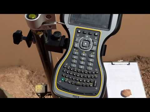 How To Stake Out Points Using Trimble R10 (Video 2 Of 2)