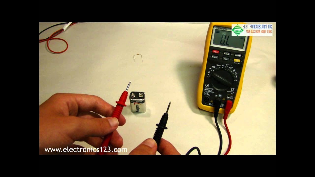 how to use a multimeter rh youtube com