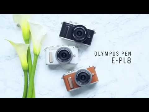The Distinctively Stylish & Compact Olympus PEN E-PL8