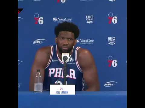 Joel Embiid is 'disappointed' about the Ben Simmons-76ers situation | #Shorts