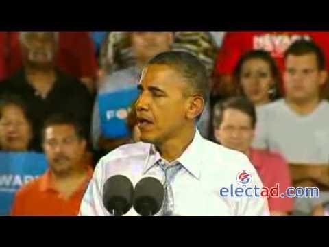 Barack Obama Campaign Event in Las Vegas, NV - September 30 2012