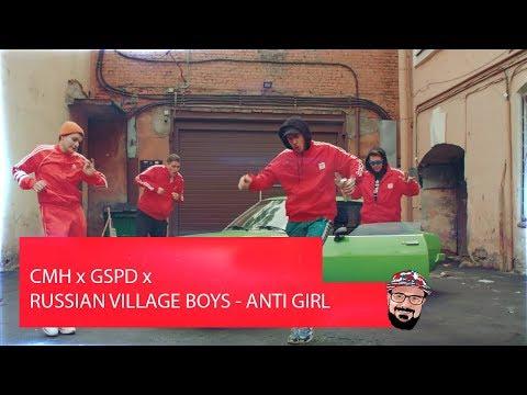 💥 Иностранец реагирует на CMH x GSPD x RUSSIAN VILLAGE BOYS - ANTI GIRL