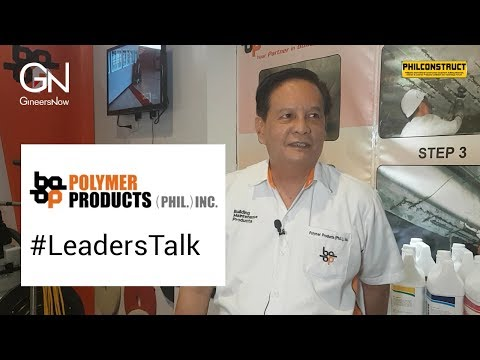 #LeadersTalk with Polymer Products Phil Inc, Manolo Jacobe