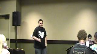 Colossalcon Idol 2012 First Round - Voltage Fighter Gowkaizer OP