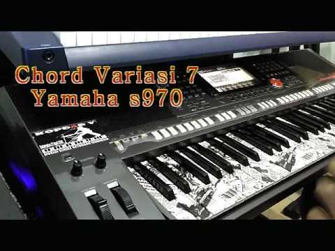 Style Chord Variasi 7 Yamaha psr s970
