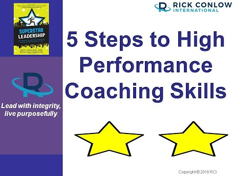5 STEPS TO HIGH PERFORMANCE COACHING SKILLS