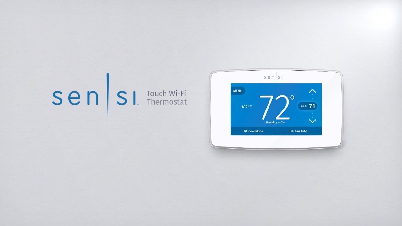 Sensi U2122 Touch Wi-fi Thermostat For Professionals